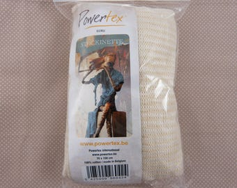 Cotton Stockinette, relief for powertex decoration