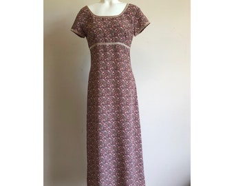 Vintage Express Campaignie Internationale Floral Dress