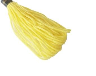 1 skein 8 m Mercerized cotton FLOSS - yellow straw 325