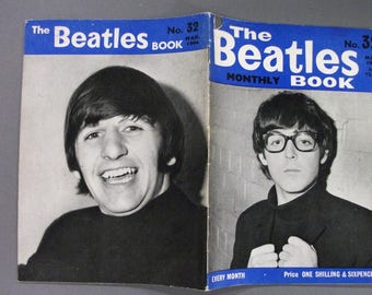 Original March  1966 The Beatles  Monthly Book #32