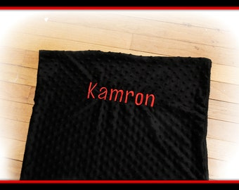 Personalized Minky Nap Mat Cover  - Kindermat Cover- Angeles Mat Cover - Preschool - Daycare - Kindergarten - Personalize