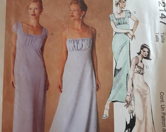 McCall's 2147, Evening Gown Sewing Pattern