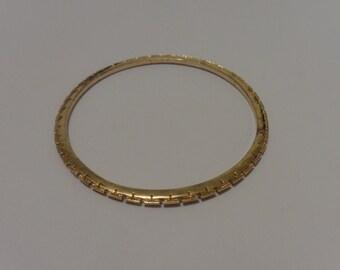 Vintage Trifari Gold Tone Bracelet
