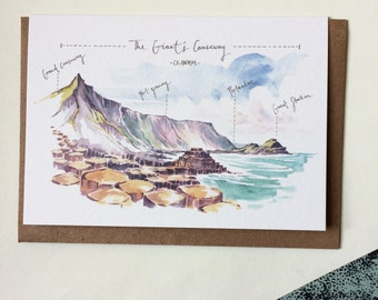 Greeting Card Giant's Causeway (West)