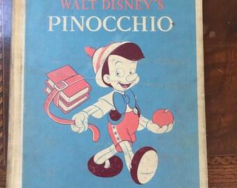 Walt Disney Story Book: Pinocchio