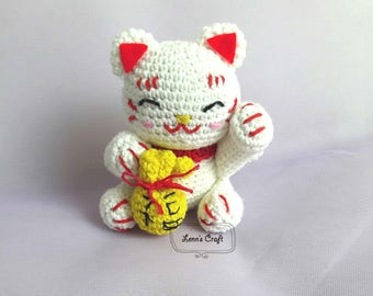 Amigurumi Cat Doll : Kitten cat amigurumi crochet pattern pdf instant download
