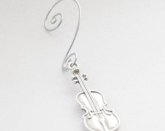 Christmas Ornament. Violin Ornament, Music Ornament, Christmas Ornament, Music Teacher Gift, Musician Gift, Violinist Gift, Cello Ornament