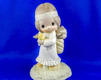 His Burden is Light - Precious Moments Figurine