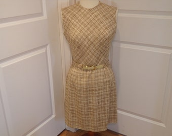 Vintage 1960's  Country Miss Sleeveless Dress