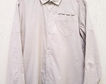 Zero Waste Pajama Button Down Shirt