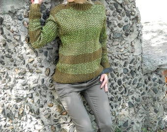 Light warm trendy sweater