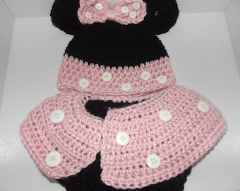 Baby Minnie Mouse Set