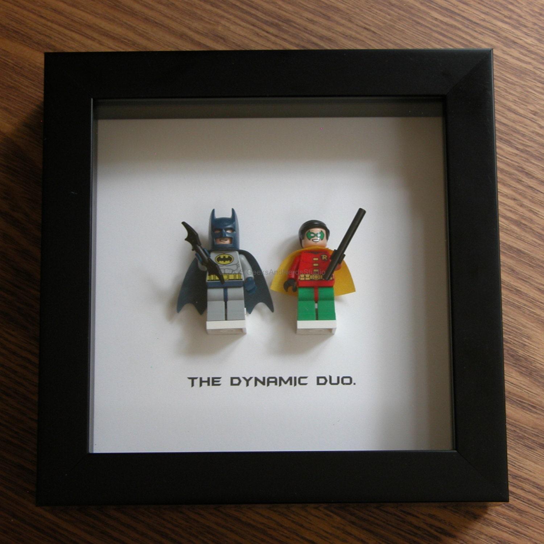 Batman Wall Art Superhero Art LEGO Batman & Robin LEGO