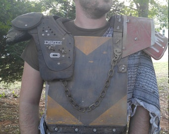 Wastelander's Battle Armor - Post Apocalyptic Chest Plate