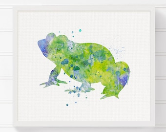 Watercolor Frog Frog Art Print Frog Painting Frog Poster Frog Wall Art Frog Wall Decor Frog Art Nursery Art Print Frog Illustration  sc 1 st  Etsy & Frog Illustration Frog Art Print Frog wall art Toad Print Frog