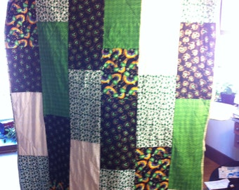 St Pactricks day Quilt
