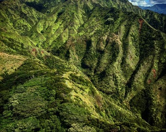 Mt. Waialeale in Kauai, Hawaii