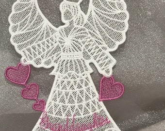 Granddaughter Angel (Free Standing Lace)