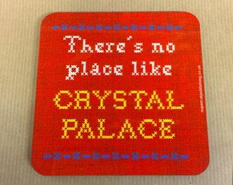 Needlepoint Crystal Palace Coaster