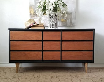 Vintage Mid Century Dresser/Credenza by Bassett *Local Pick Up Only