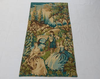 Vintag French Romantic Tapestry (289)
