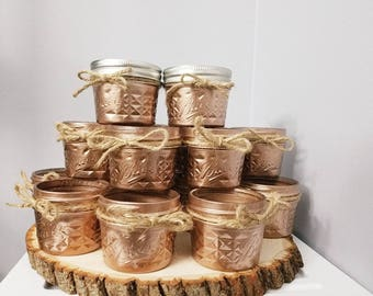 Set of 12 Small Jars - Wedding favors