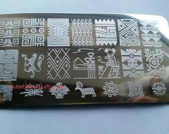 Nail stamping plate for stamping nail art- JQ-L11
