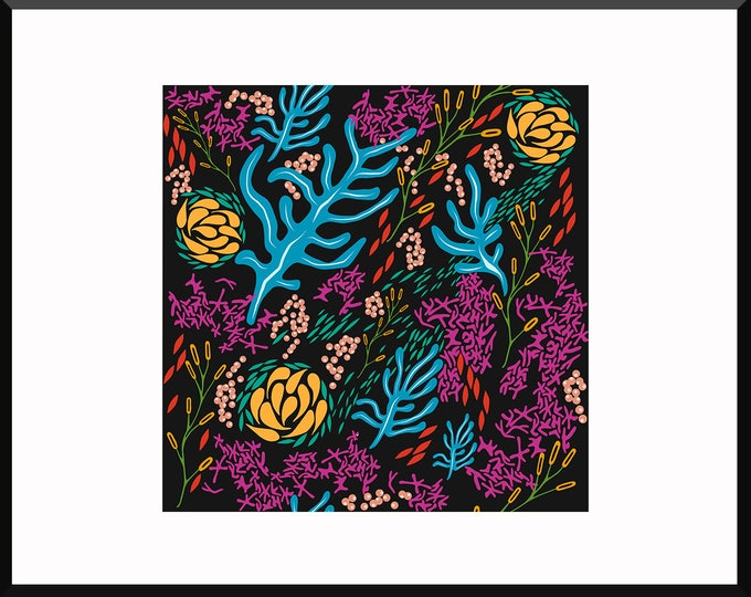 On the Ocean Floor Print