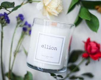 Signature ellion wood wick Candle