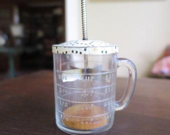 Vintage Food Chopper and Measure Cup