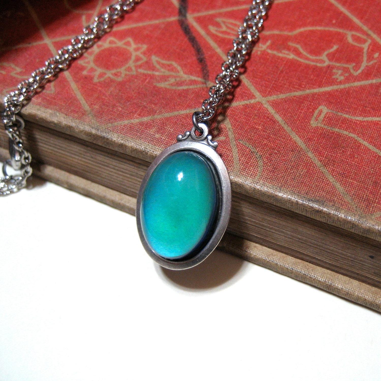 Mood necklace antiqued silver antique silver color zoom aloadofball Gallery