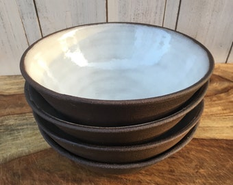 Handmade Ceramic Bowls, Pottery Bowl Set, Soup Bowl Set, Salad Bowls, Ceramic Salad Bowls, Handmade Pottery Bowls, Modern Rustic Bowls