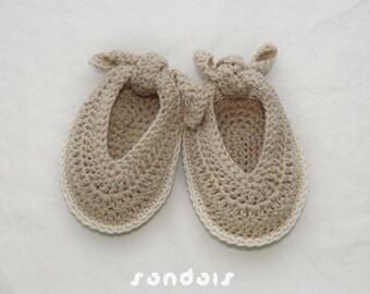 Baby Sandals Crochet PATTERN, SYMBOL DIAGRAM (pdf)