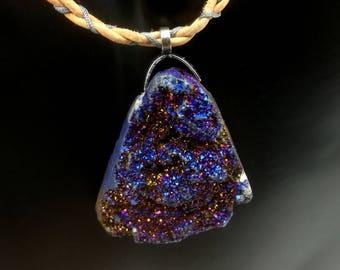 Druzy Agate necklace