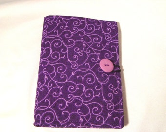 Note taker Honey Do List Grocery List Taker/ Comes with- Note Pad and Pen- Purple Swirls