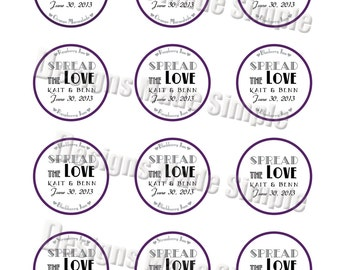 Spread the Love Jam Labels - Printable