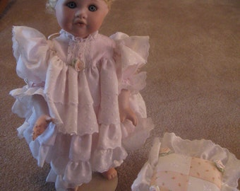 Mandy                Porcelain doll by Phyllis Parkins