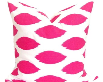 PINK Pillows, Pink Pillow Cover, Decorative Pillow, Pink Throw Pillow,18x18, 16x16, 22x22, 26x26 and more-Pink Sham, Pink Euro, Pink Cushion