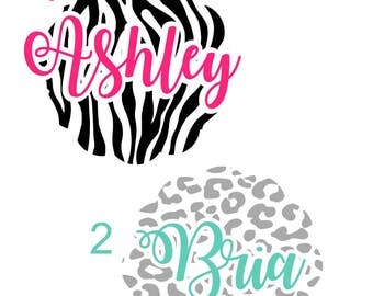 Personalized Name Vinyl Decal, Name Vinyl Decal, Custom Name Decal, Yeti Decal, Tumbler Decal
