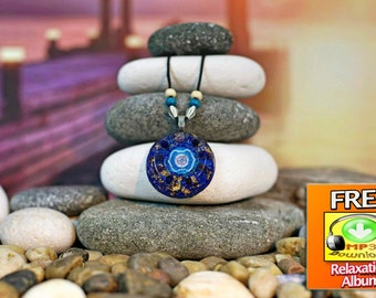 Orgone necklace etsy orgone pendant for focus boost intuition imagination wisdom ability to make decisions aloadofball Choice Image