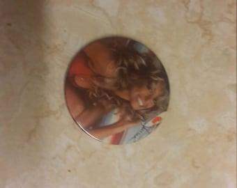 Farrah Fawcett large pin back 1977