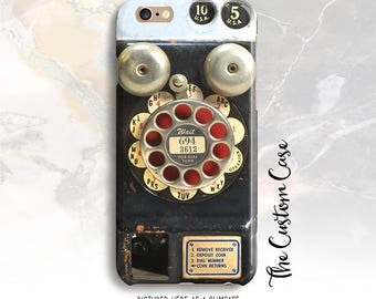 Retro Payphone Phone Case, Vintage Payphone Iphone Case, Steampunk Phone Iphone case, Vintage Payphone Case