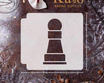 Chess Piece Pawn 783-465 Stencil