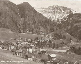 Les Avants - Montreux.  Switzerland - circa 1920 Unused Postcard
