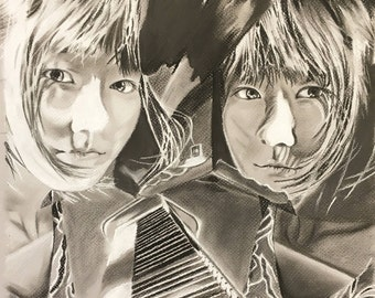 Custom Pencil/Charcoal Portraits