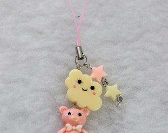 Little Dreams Pastel Phone Strap