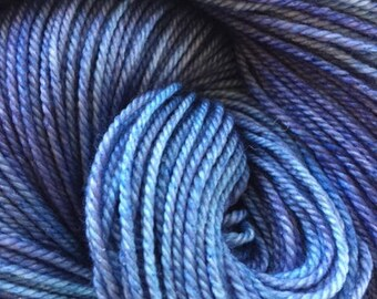 Hand dyed yarn MCN  404 yards sport/DK X large skeins MCN
