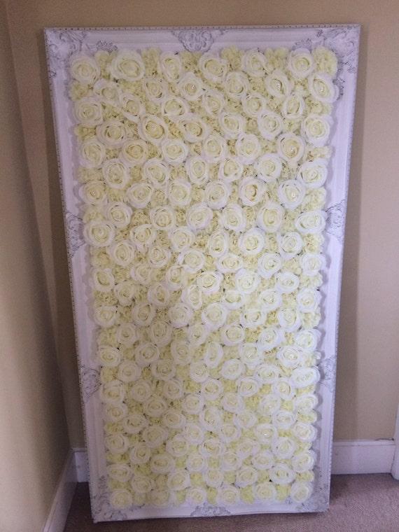Stunning Wedding Flower Wall Frames Ceremony