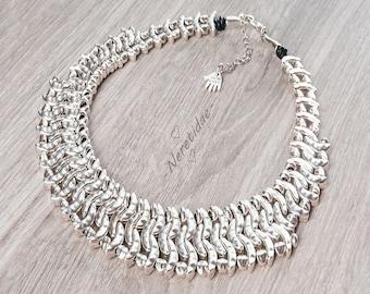 boho necklace for women, tribal jewelry, bohemian jewelry, gypsy jewellery, bohemian necklace, women tribal necklace, african necklace