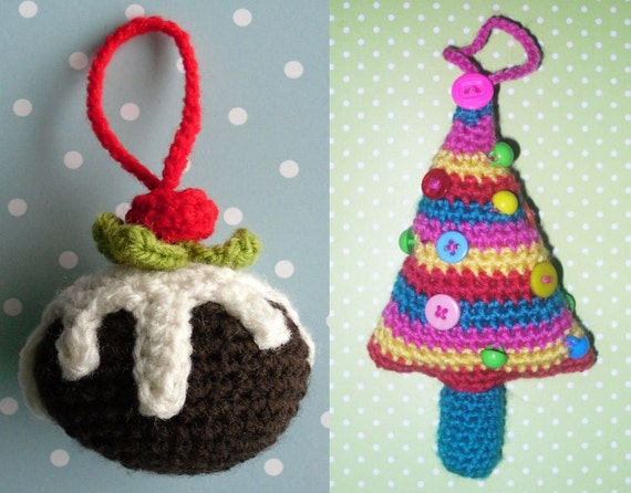 Wooly Likes To Hook Crochet Christmas Pudding And Christmas